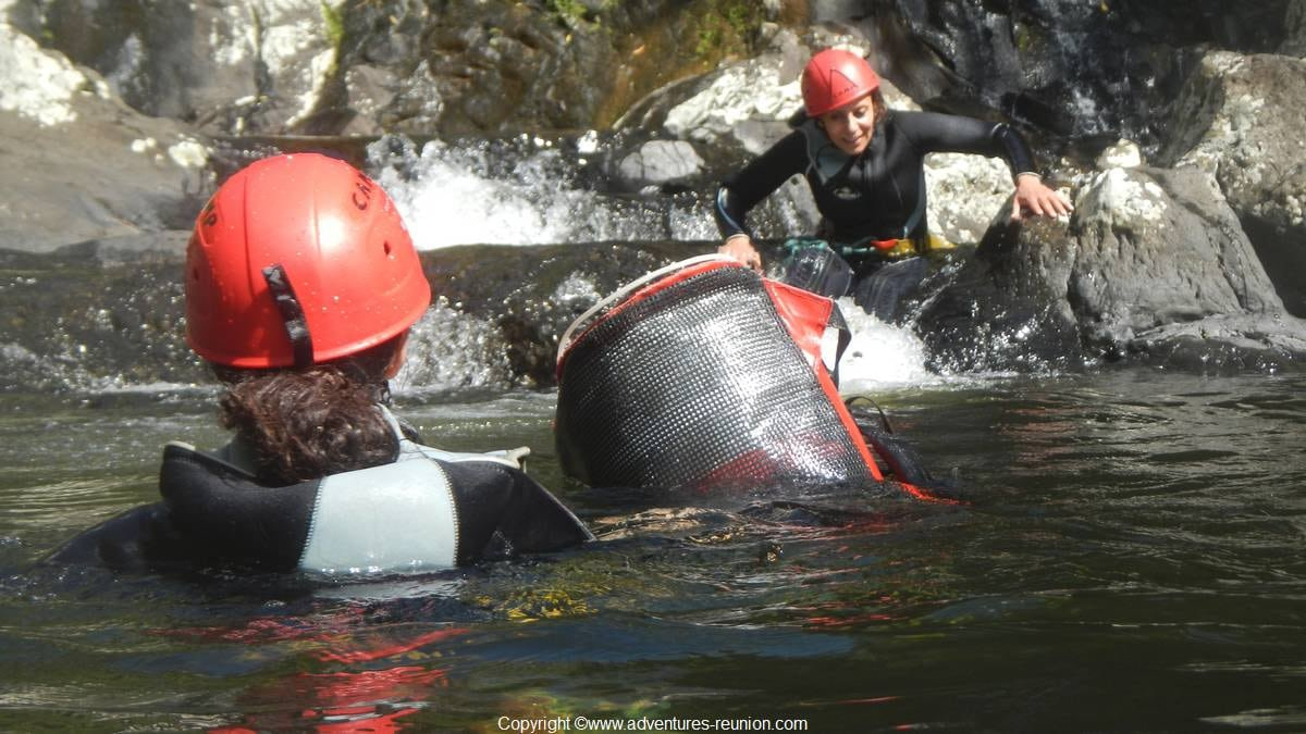 Sainte Suzanne canyon--canyoning-kloofing-canyoneering
