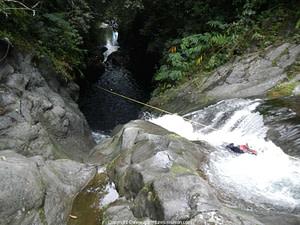 El barranco Langevin en la isla Réunion-barranquismo-1